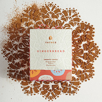 Thymes Gingerbread Home Scent Collection