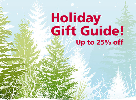 Holiday Gift Guide - up to 25% off