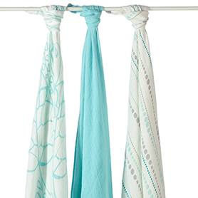 Aden & Anais Bamboo Swaddle 3 Pack