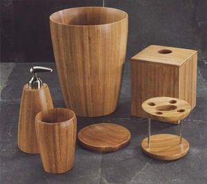 Boomba Bamboo Bath Accessories