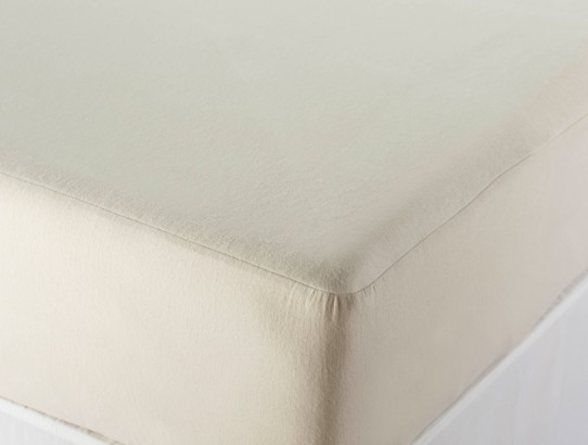 Fitted Organic Mattress Cover & Protector