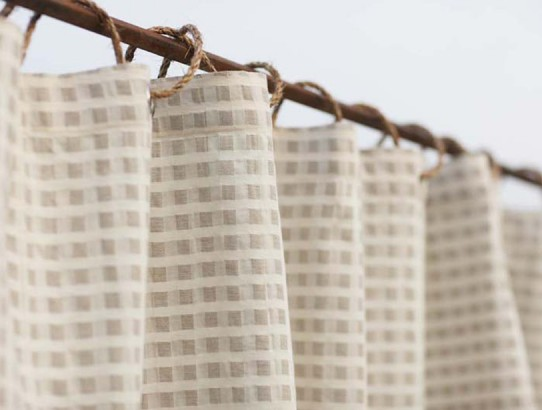 Birch Linen & Cotton Shower Curtain