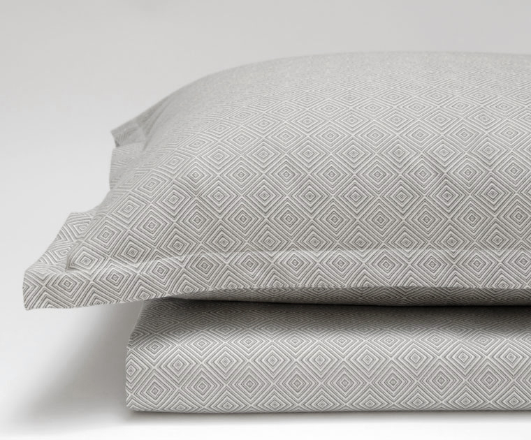 Dia Cotton Jacquard Duvet & Shams