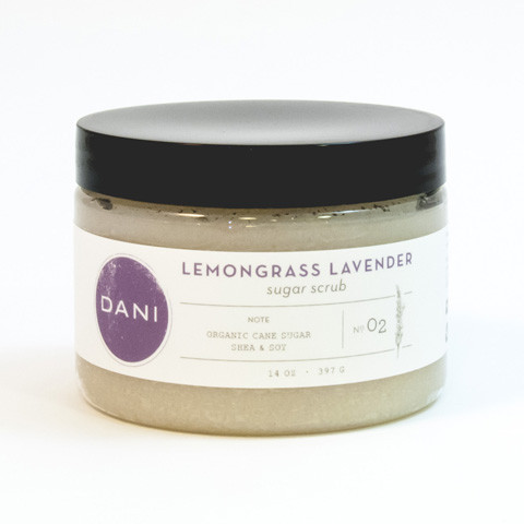 DANI Gentle Sugar Scrub