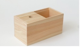 Hinoki Wood Amenity Box