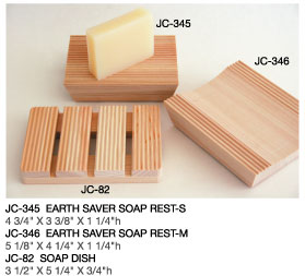 Hinoki Wooden Soap Rests