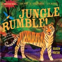 Mama and Baby Indestructible Baby Book and Jungle Rumble Baby Book
