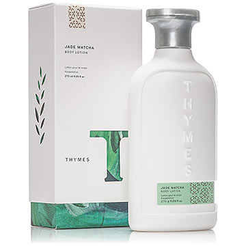 Thymes Jade Matcha Body Care Collection