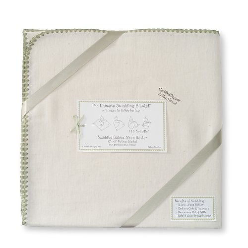 Organic Cotton Swaddling Blanket