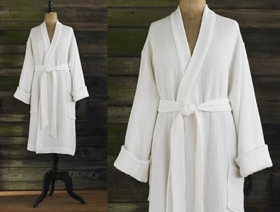 Organic Waffle Weave Robes