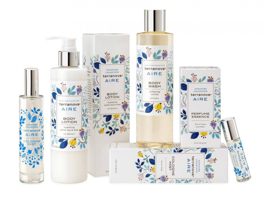 Terranova Aire Body Care Collection