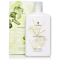 Thymes Eucalyptus Body Care Collection