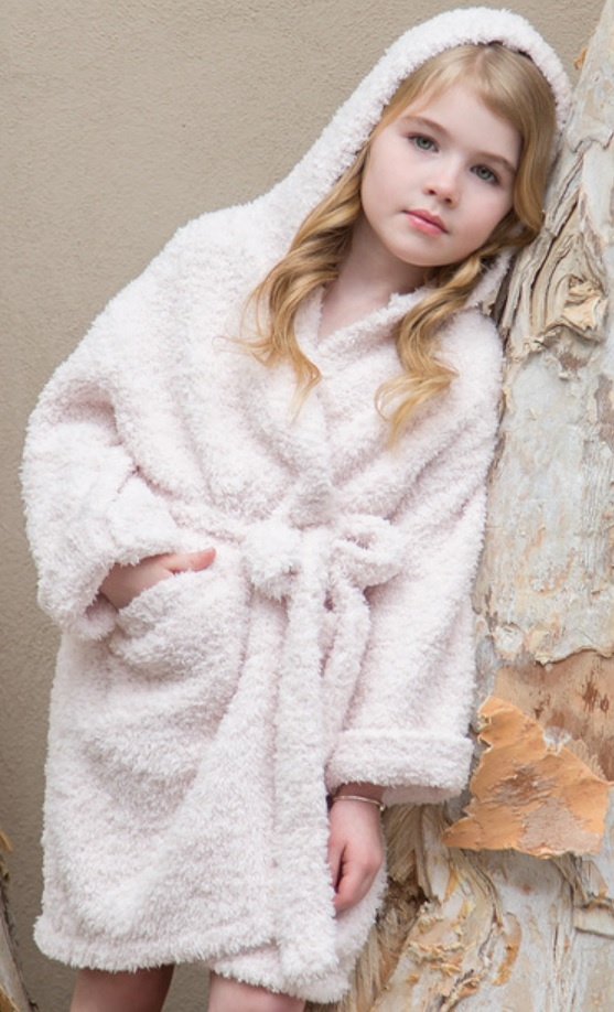 Barefoot Dreams Bamboo Chic Kids Robe