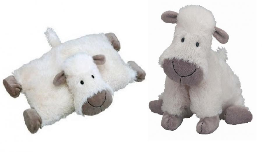 Truffles Sheep Sleeptime Pillow and Cuddle Buddy