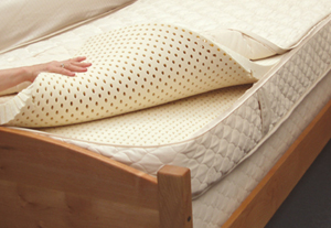 The Utopia - Earthsake's fully customizable organic 3-layer natural latex mattress