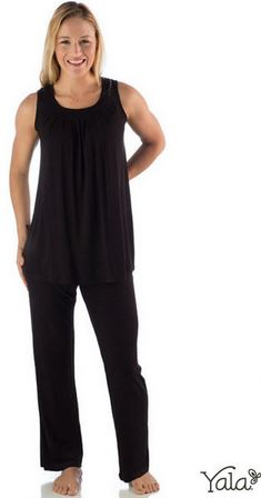Yala Bamboo Dreams Delia Pajama Set
