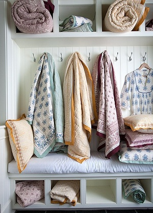 Organic Cotton Bedding - Yala Block Print