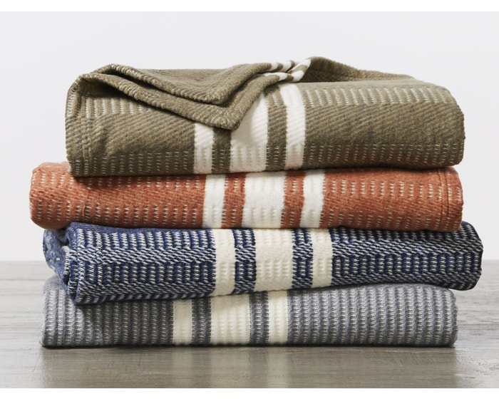 organic cotton throw blanket
