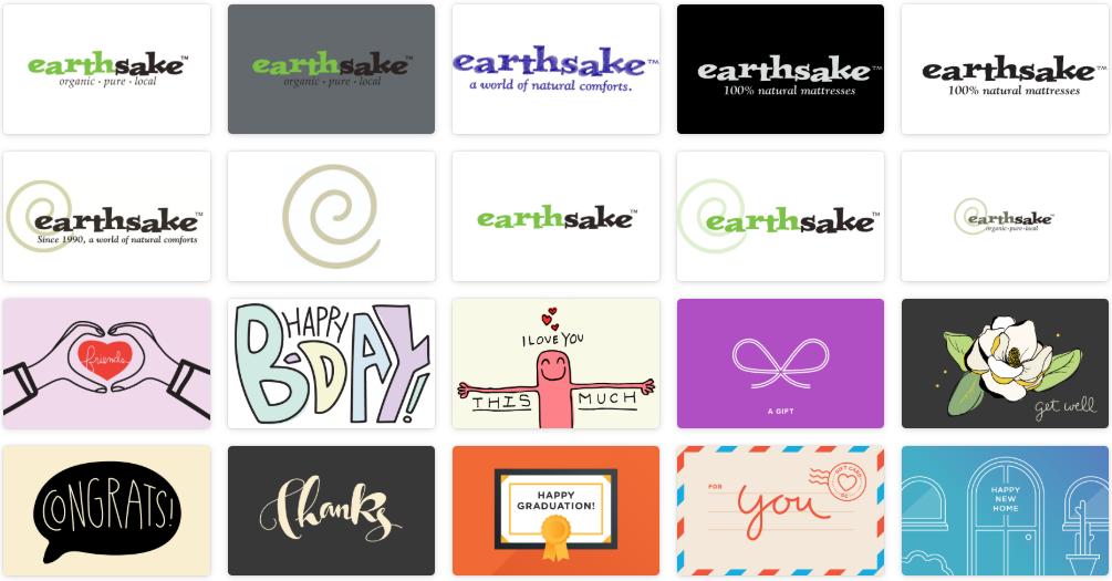 earthSake eGift Cards