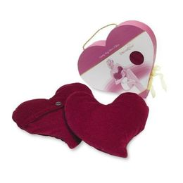 Heart pillow that warms up or cools down
