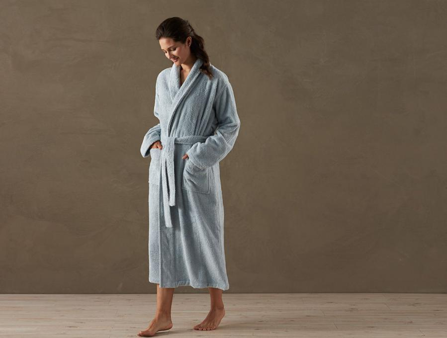 New Organic Terry Robe from Earthsake