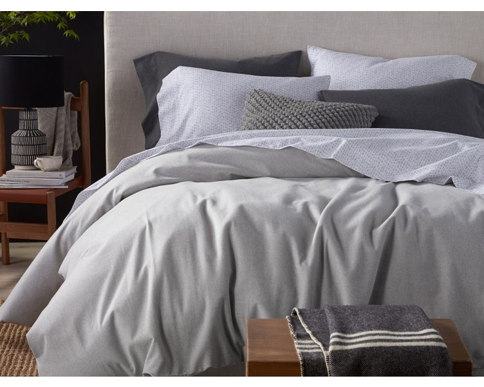 Organic Cotton Flannel Sheets and Duvet Covers
