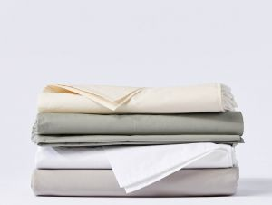Organic Cotton Percale Sheets - 300 thread count