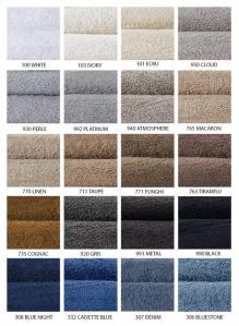 Abyss European Super Pile Towels & Rug Colors