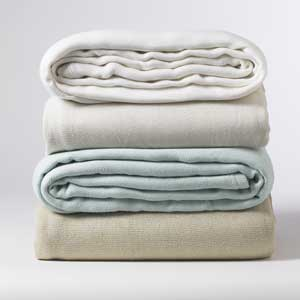 Bamboo Pure Texture Blankets
