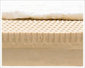 The Bliss 2-Layer Natural Latex Organic Mattress