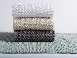 Organic Cotton Chenille Pebbled Rugs