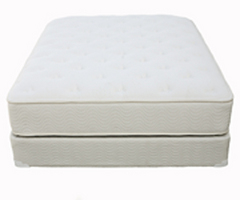 Organic Innerspring and Latex Mattress - The Cloud Deluxe by Earthsake