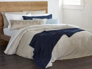 Scattered Embroidered Linen Duvets & Shams