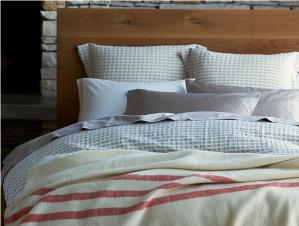 Organic Cotton & Linen Birch Duvet Covers & Shams