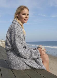 Cozy Heathered Robe