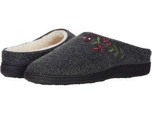 Flora Hoodback Henna Wool Scuff Talara Mule Slippers for Women