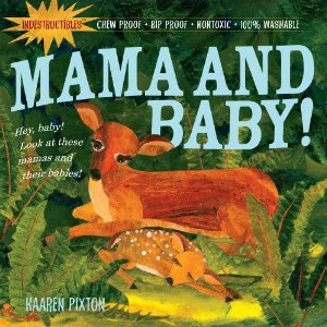 Indestructible Baby Books - Momma and Baby
