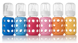 Life Factory Glass Baby Bottles