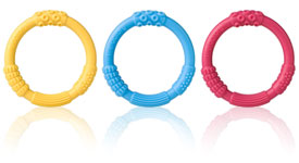 Multi-sensory Silicone Baby Teethers