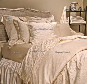 Purists Venetian Silk Bedding Collection - Purists Venice Silk, Venice Cashmere, Rhapsody