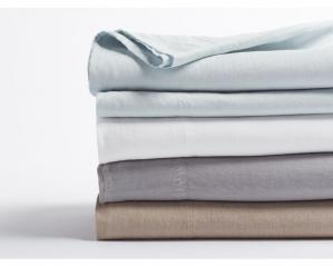 Relaxed Linen Sheets & Duvets