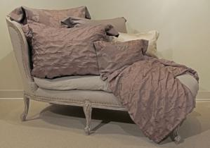 Platino Silk/Egyptian Cotton Bedding Collection