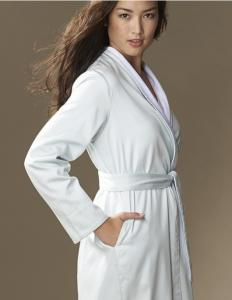 Organic Cotton Sateen and Terry Robe