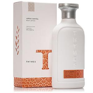 Thymes Lotus Santal Body Collection