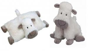 Truffles Sheep Cuddle Buddy and Pillow