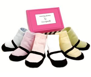 Trumpette Baby Socks - Mary Jane's for Girls
