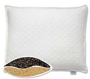 Bucky Sleep Pillow w/Case, Std., Ecru