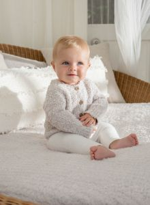 Barefoot Dreams CozyChic Cardigan for Baby