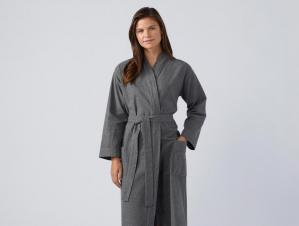 07812a707441 Organic Cotton Flannel Robe (for Men or Women)