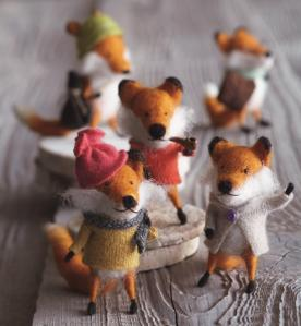 Foxy Fellow Ornaments